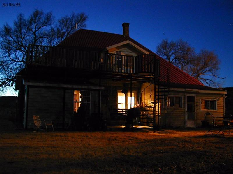 Night Time at the Ranch House